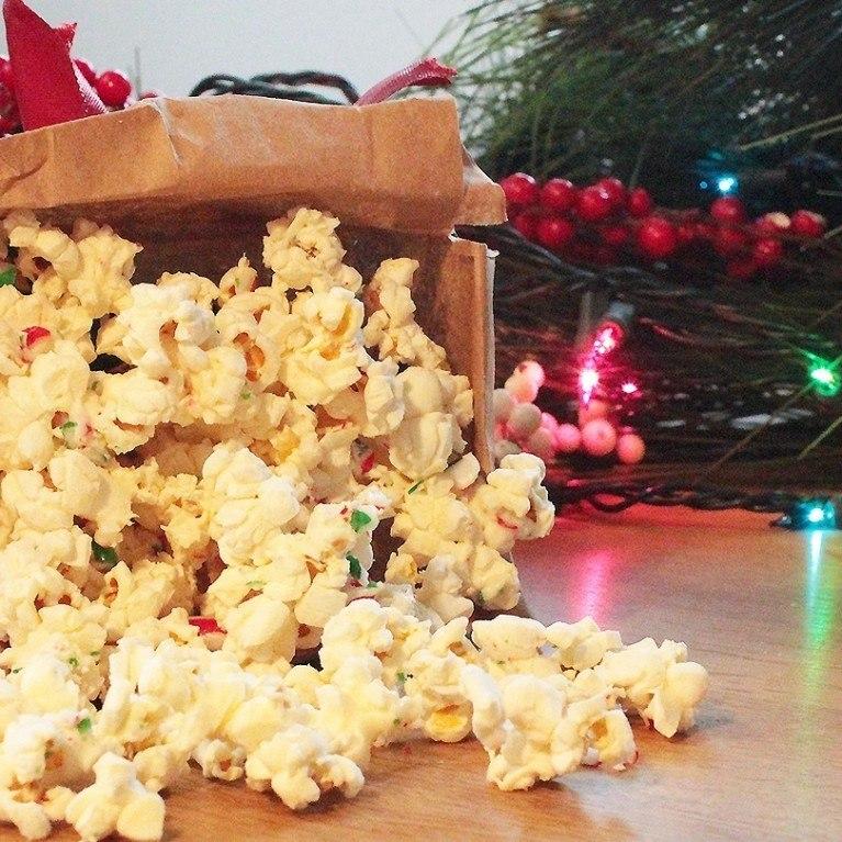 Popcorn du temps des fêtes