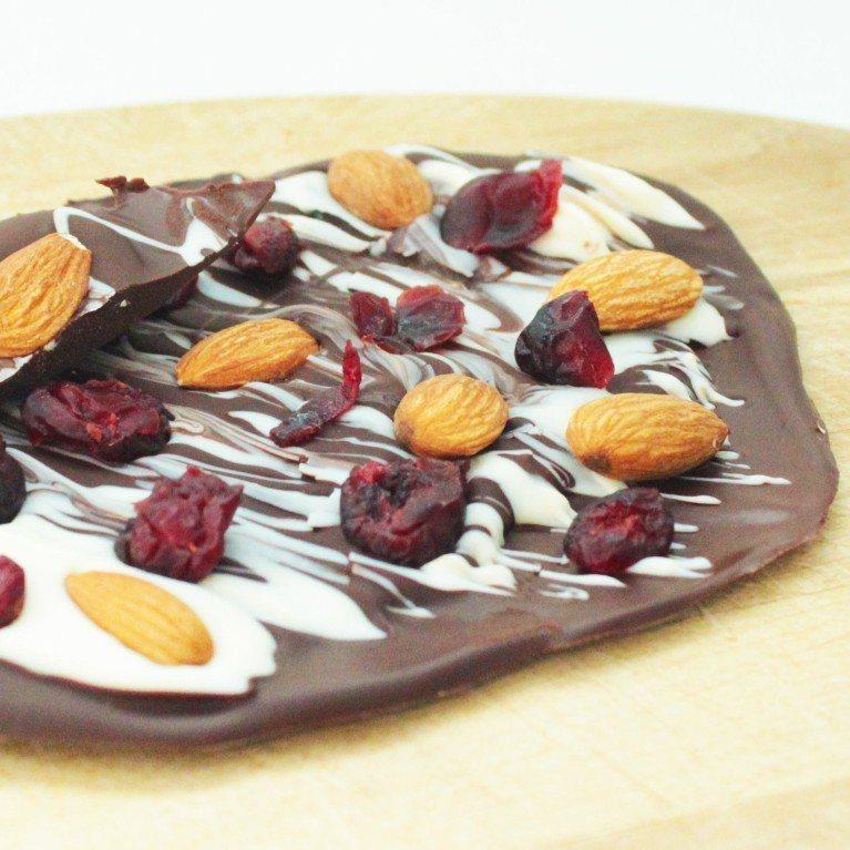 Écorce chocolatée