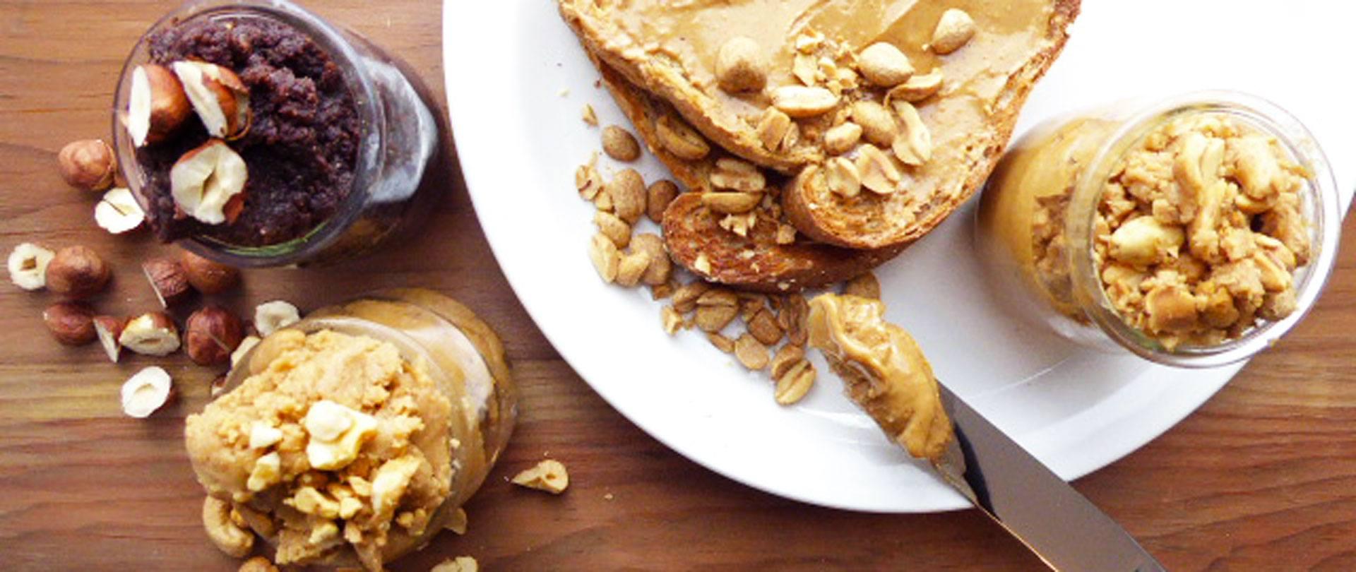 Beurre de noix maison : Comment faire? + 3 variantes