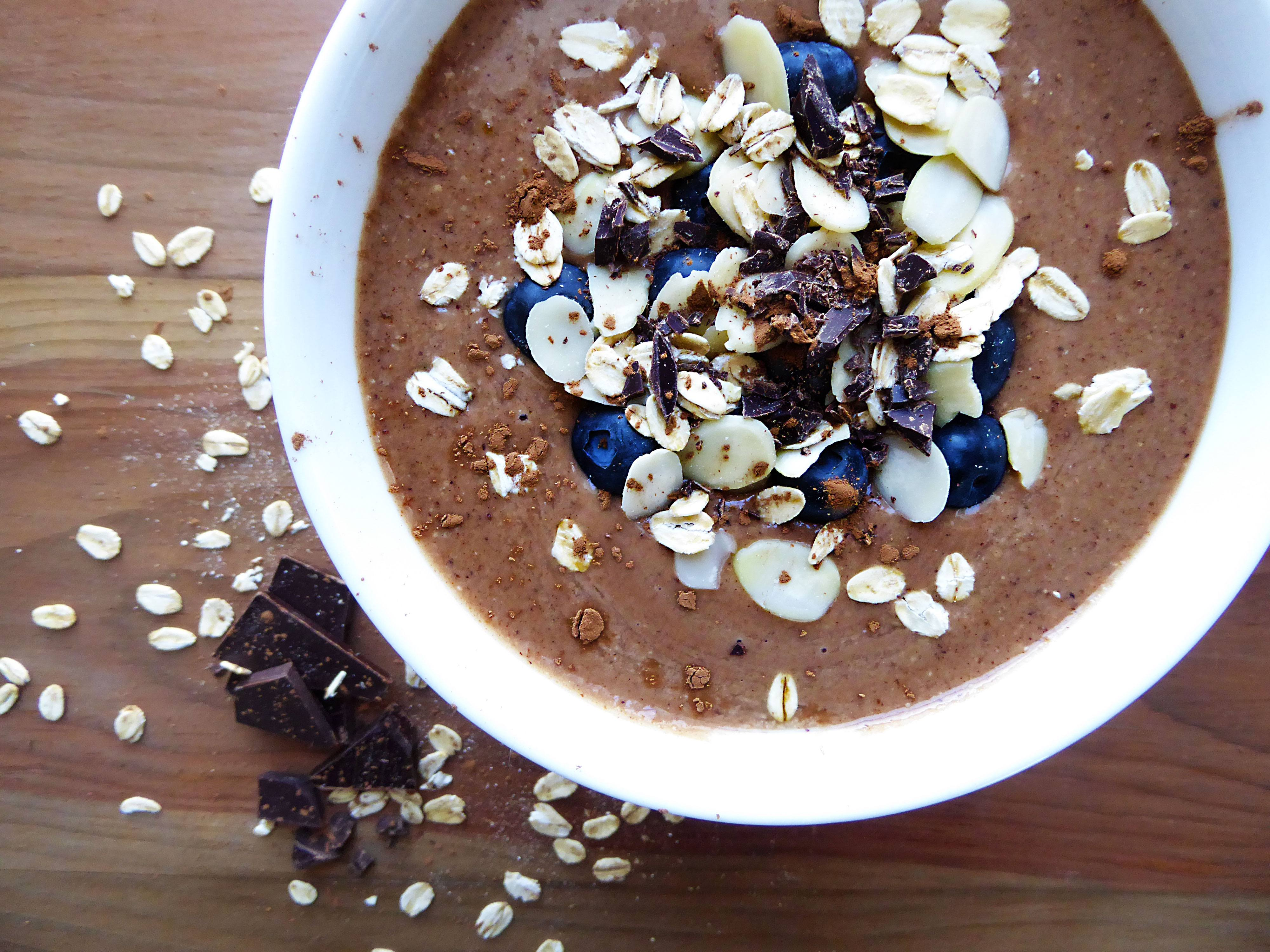 Smoothie avoine cacao - 7 recettes de smoothie santé