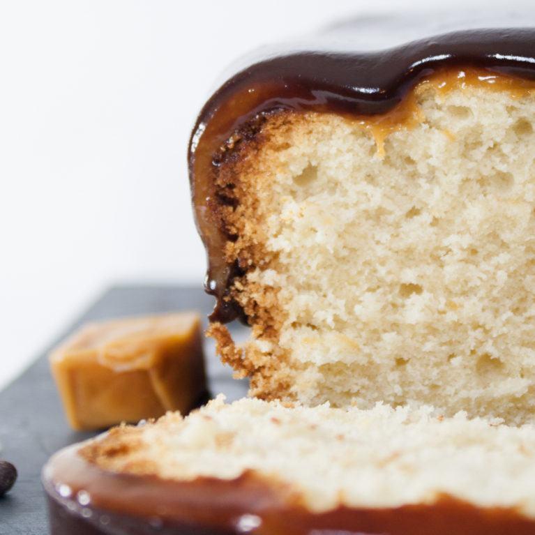 Cake gourmand caramel & chocolat
